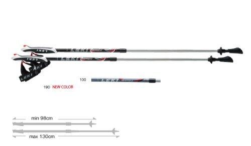 LEKI レキ スピン ノルディックウォーキングポール ブラック 1300188 男女兼用 身長155~180cm