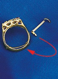 Ring Adjusters - Women's Gold Adjuster by Carol Wright Gifts