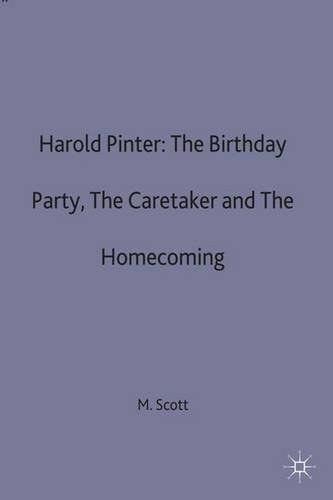 the caretaker by harold pinter essay Essays analysis documents - the caretaker by pinter get help with any kind of assignment - from a high school essay to a phd dissertation.