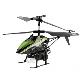 Toys Agency Bubble Copter, WL Products - 3.5 CH Mini Radio Shooting Bubble RC Helicopter Gyro V757- This 3.5 CH mini RC helicopter with bubble shooting option, built-in Gyro, extremely light weight, strong resistance of impact, Infrared Control. Color GREEN