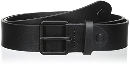 Lacoste Men's Sportswear Leather Belt with Tonal Croc, Black, 37 (Lacoste Belts compare prices)