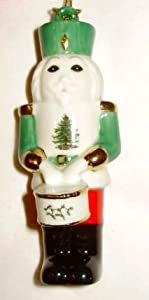 Spode Christmas Tree Drumming Soldier Nutcracker Ornament