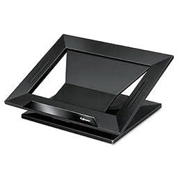 Fellowes® Designer SuitesTM Laptop Riser STAND,LAPTOP RISER,BK (Pack of4)