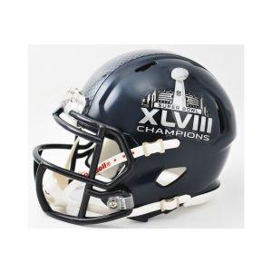 NFL Seattle Seahawks Super Bowl 48 Champs Mini Helmet by Riddell