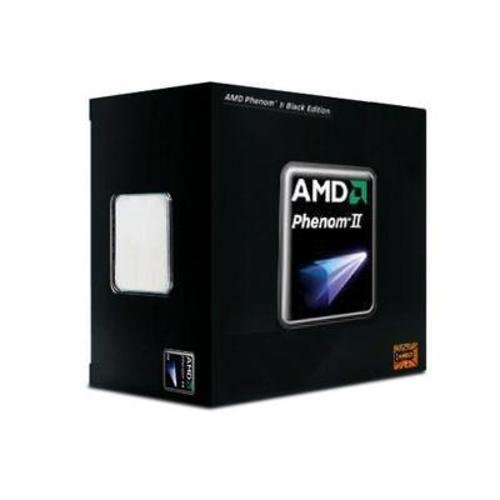 AMD HDZ965FBGMBOX Phenom II X4 965 - 3.4 Ghz AM3 Black Edition CPU, Retail Packaged