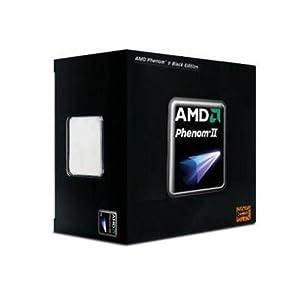 AMD HDZ965FBGMBOX Phenom II X4 965 - 3.4 Ghz AM3 Black Edition CPU, Retail Packaged