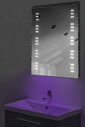 Ambient Ultra-Slim Led Bathroom Mirror With Demister Pad & Sensor K11U