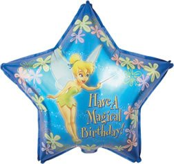 Tinkerbell Magical Birthday 19 inch Mylar Balloon