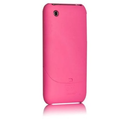 Case-Mate 日本正規品 iPhone 3G / 3GS Smooth Case with Screen Protector, Pink スムース ハード ケース (液晶保護シート つき) ピンク IPH3GSM-PNK