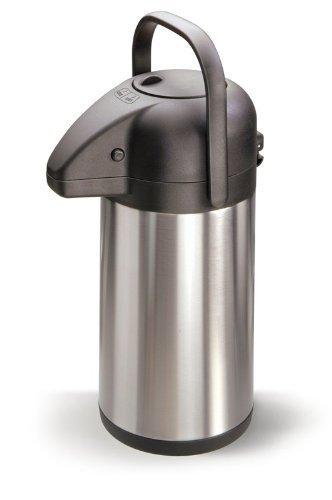 Pump ISO Théière isotherme en acier inoxydable 1,9l Verseuse Théière