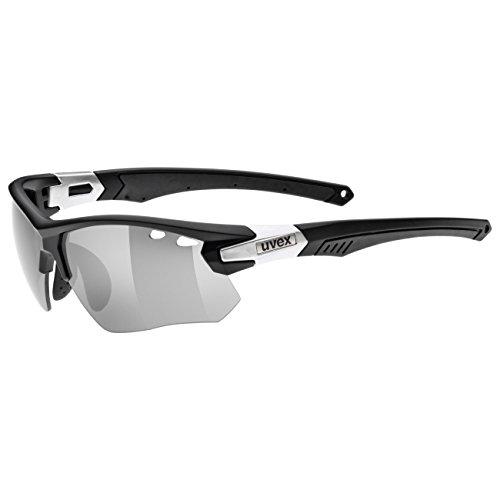 Uvex, Occhiali da sole Unisex adulto Sportstyle 109, Nero (Black Mat/Silver), Taglia unica