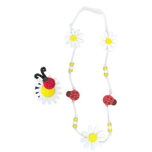 WeGlow International Daisy and Ladybug Foam Jewelry Kit (2 Kits)