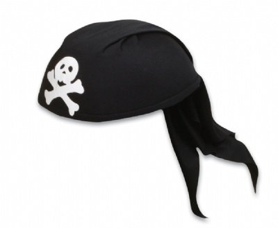 Adult Pirate Scarf Hat Costume Accessory
