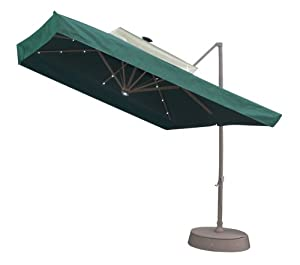 SOUTHERN PATIO 8.5' Square Offset Solar Umbrella at Sears.com