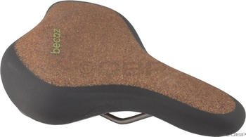 Selle Royal Men'S Becoz Relaxed Recyclable Saddle Cover With Cork, Brown/Black front-200879