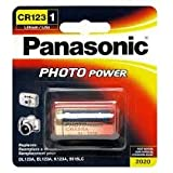Panasonic Photo Power CR123 Lithium Batteries,