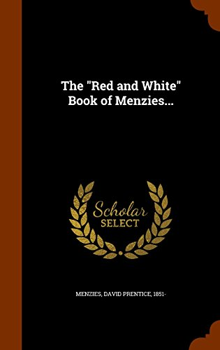 The 'red and White' Book of Menzies... Image