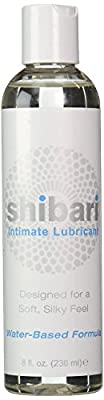 Shibari Premium Intimate Lubricant, Ultra-Smooth, Water Based,