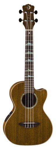 Luna High Tide Series Ovankol Tenor Acoustic-Electric Ukulele