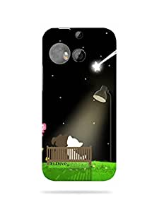 alDivo Premium Quality Printed Mobile Back Cover For HTC ONE M8 / HTC ONE M8 Back Case Cover (MKD218)