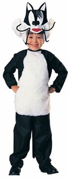 Rubie's Sylvester the Cat Child Costume Black Size 4-6 18742
