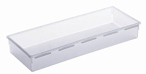 Rotho-788594-Schubladen-Ordnungssystem-aus-Kunststoff-transparenter-Schubladenorganizer-flexibel-und-modular-einsetzbar-hergestellt-in-der-Schweiz-Mass-38-x-15-cm