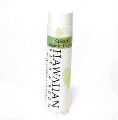 HAWAIIAN BATH&BODY ハワイアンバスアンドボディ ククイ・リップバーム無香料 Kukui Nut Lip Balm 4.8g