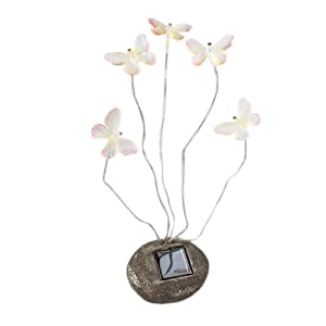 Click to read our review of Decorative Small Butterflies Garden Solar Lights With 5 Blinking LEDs
