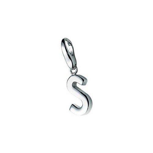 Giorgio Martello Charm Silver 301-805299 Lucky Letter S