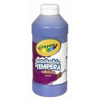 Crayola Artista II Washable Tempera Paint 16oz Blue