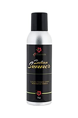 Indian Summer Sunless Tanning Spray by J-Essentials THE #1 BEST Sunless Tanning Product Available- Professional Formula- Tinted -Ultra Fine Mist Delivers The Most Natural Looking Color -Get The Perfect Tan!