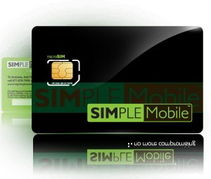 Simple Mobile Micro SIM Card Activation Kit for Apple iPad / iPhone 4G & 4S