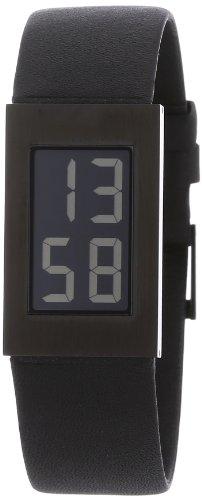Rosendahl Real Watch 43271 - Reloj de mujer de cuarzo, correa de piel color negro