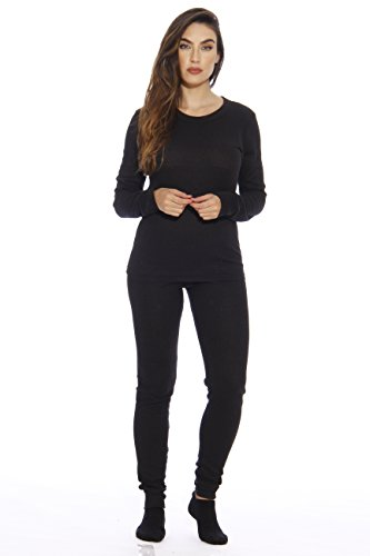 95862-Black-M Just Love Women's Thermal Underwear Set / Base Layer Thermals (Ladies Snow Pants compare prices)
