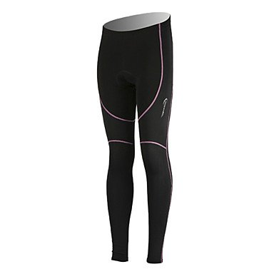 Xs 90%Ployester+10%Spandex+Fleece Material Warm-Keeping Women Cycling Trousers 48623 , S