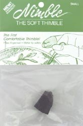 Nimble Thimble Leather With Metal Tip Small NT-S; 3 Items/Order