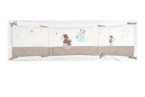 nattou 171205 tour de lit bubbles avis test pas cher. Black Bedroom Furniture Sets. Home Design Ideas