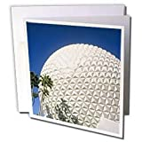 Danita Delimont - Florida - Florida, Orlando. Epcot Center at Walt Disney World - US10 BBA0073 - Bill Bachmann - Greeting Cards-12 Greeting Cards with envelopes