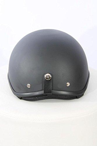 Motorcycle helmet Half shell helmet TC-55 Matt black L ABS, Polycarbon Polystyrene