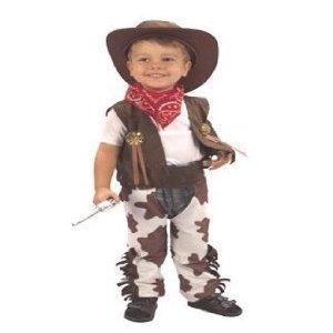 Déguisement Enfant Costume Garçon Cowboy 3 ans
