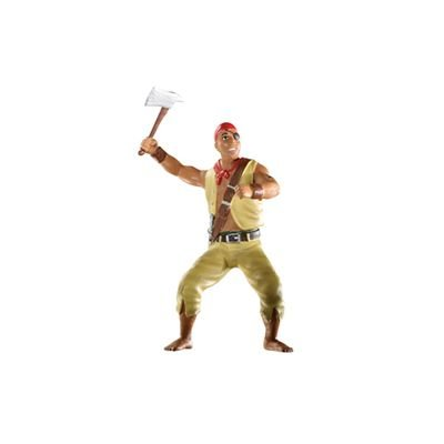 Pirate With Battle Axe Figure - 4.5''