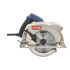 Factory-Reconditioned Ryobi ZRCSB133L 13 Amp 7-1/4-in Circular Saw With Laser