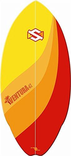 SKM One Ventura skim board - rosso/arancione