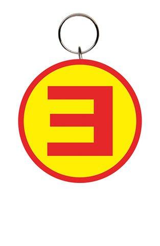 Eminem - E - Gomma portachiavi - dimensioni circa 5 cm