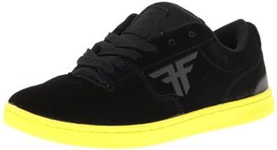 Fallen Men's Seventy Six Skate Shoe,Black/Highlighter,8 M US