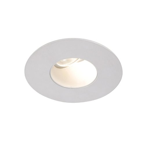 Wac Lighting Hr-2Led-T309N-27Wt Tesla - Led 2-Inch Adjustable 0-Degree To 30-Degree Round Trim With 26-Degree Beam Angle, Warm Light 2700K