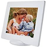 "Pictronic Illuminated Flat Screen Photo Frame for a 5x7"" Picture, White Plastic"