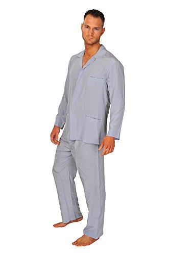 brioni-pajama-men-grey-silk-plain