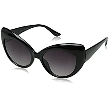 zeroUV - Oversized Vintage Inspired Super & Bold Retro Designer Cat Eye Sunglasses