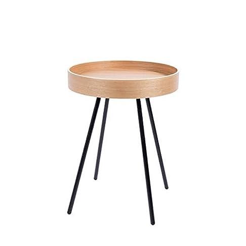 Tavolino vassoio in quercia